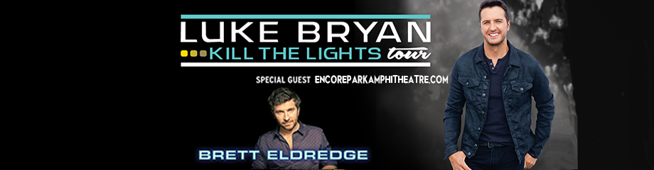 Luke Bryan & Brett Eldredge at Verizon Wireless Amphitheatre at Encore Park