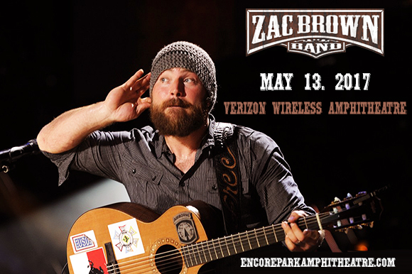 Zac Brown Band at Verizon Wireless Amphitheatre at Encore Park