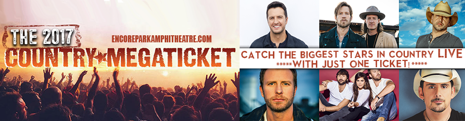 2017 Country Megaticket Tickets (Includes All Performances) at Verizon Wireless Amphitheatre at Encore Park