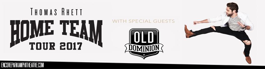 Thomas Rhett & Old Dominion at Verizon Wireless Amphitheatre at Encore Park