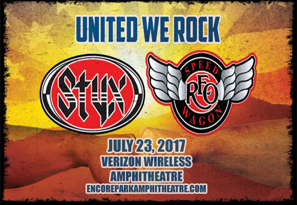 Styx, REO Speedwagon & Don Felder  at Verizon Wireless Amphitheatre at Encore Park