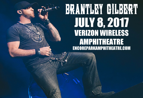Brantley Gilbert, Tyler Farr & Luke Combs at Verizon Wireless Amphitheatre at Encore Park