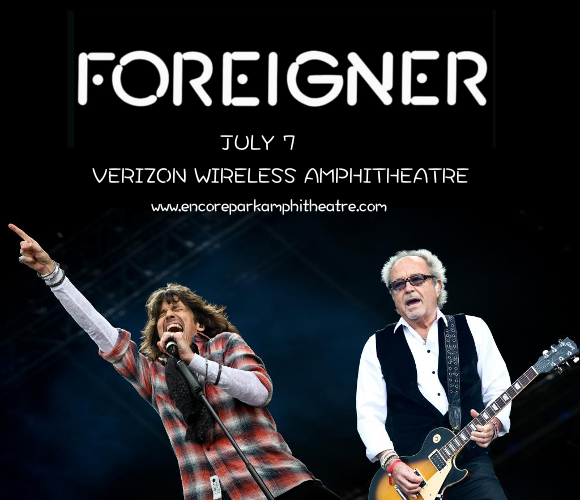 Foreigner at Verizon Wireless Amphitheatre at Encore Park