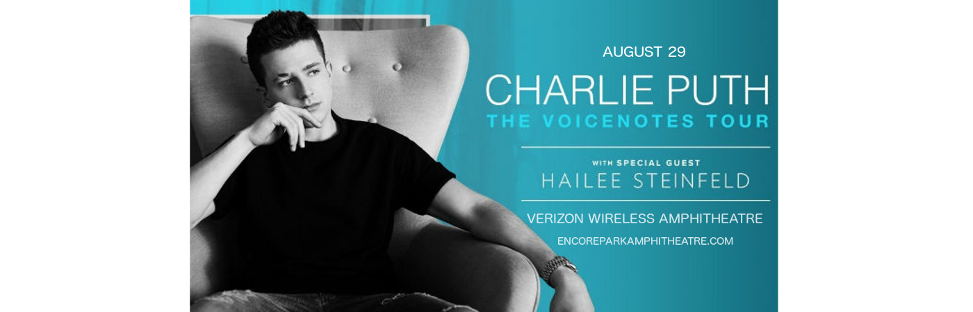 Charlie Puth & Hailee Steinfeld at Verizon Wireless Amphitheatre at Encore Park