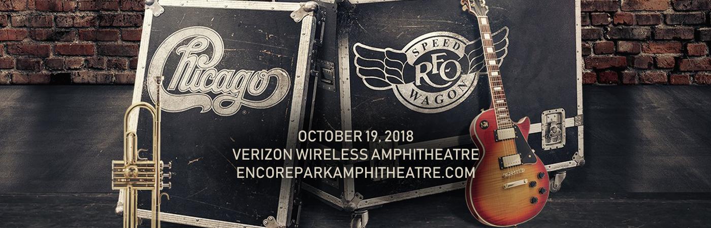 Chicago & REO Speedwagon at Verizon Wireless Amphitheatre at Encore Park