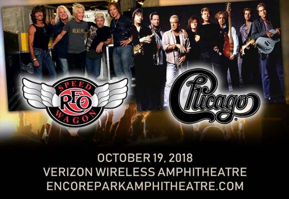 Chicago & REO Speedwagon at Verizon Wireless Amphitheatre at Encore Park