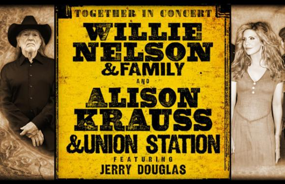 Willie Nelson & Alison Krauss at Verizon Wireless Amphitheatre at Encore Park