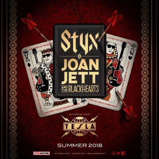 Styx, Joan Jett, The Blackhearts & Tesla at Verizon Wireless Amphitheatre at Encore Park