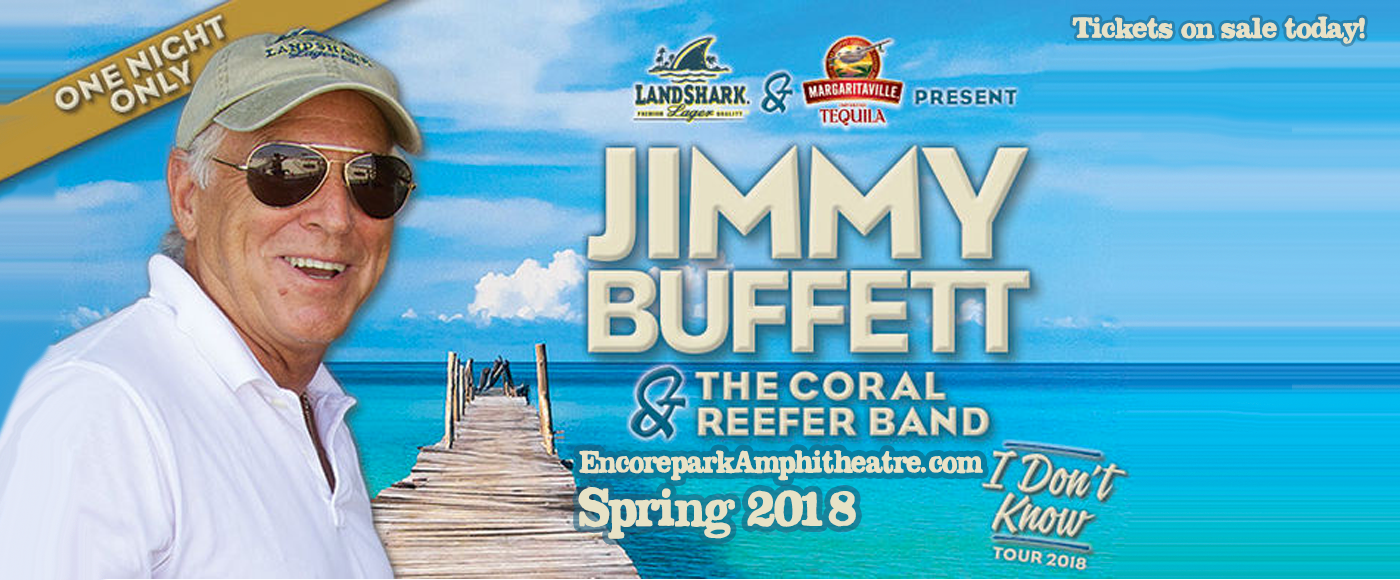 Jimmy Buffett & The Coral Reefer Band at Verizon Wireless Amphitheatre at Encore Park