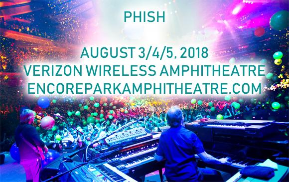Phish at Verizon Wireless Amphitheatre at Encore Park