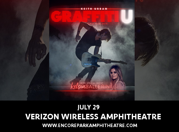 Keith Urban & Kelsea Ballerini at Verizon Wireless Amphitheatre at Encore Park