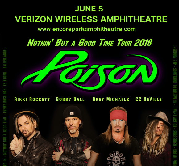 Poison & Cheap Trick at Verizon Wireless Amphitheatre at Encore Park