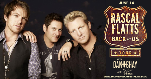 Rascal Flatts & Dan and Shay at Verizon Wireless Amphitheatre at Encore Park