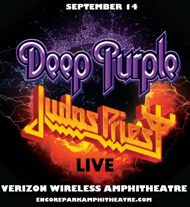Deep Purple & Judas Priest at Verizon Wireless Amphitheatre at Encore Park