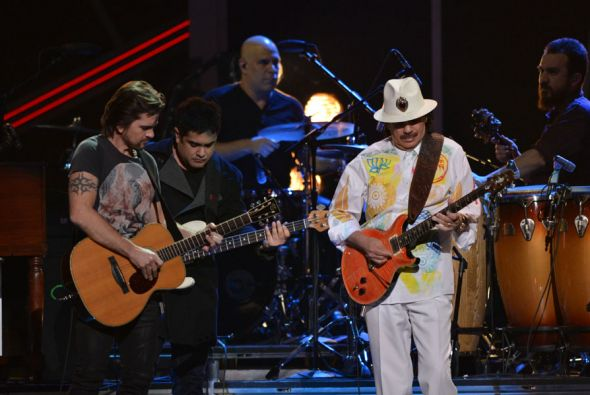 Santana at Verizon Wireless Amphitheatre at Encore Park