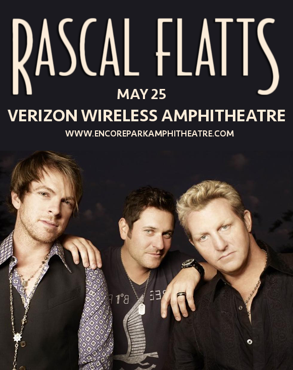 Rascal Flatts at Verizon Wireless Amphitheatre at Encore Park