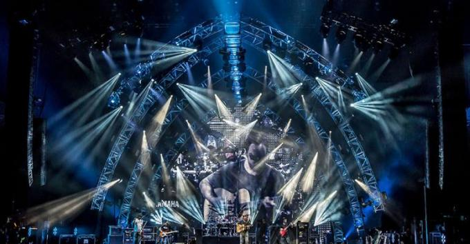 Dave Matthews Band at Verizon Wireless Amphitheatre at Encore Park