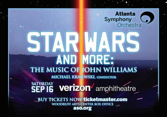 Atlanta Symphony Orchestra: The Music of John Williams - Star Wars and More at Verizon Wireless Amphitheatre at Encore Park