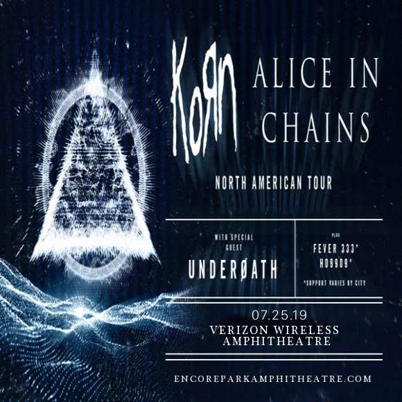 Korn & Alice In Chains at Verizon Wireless Amphitheatre at Encore Park