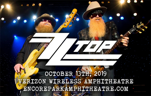 ZZ Top at Verizon Wireless Amphitheatre at Encore Park