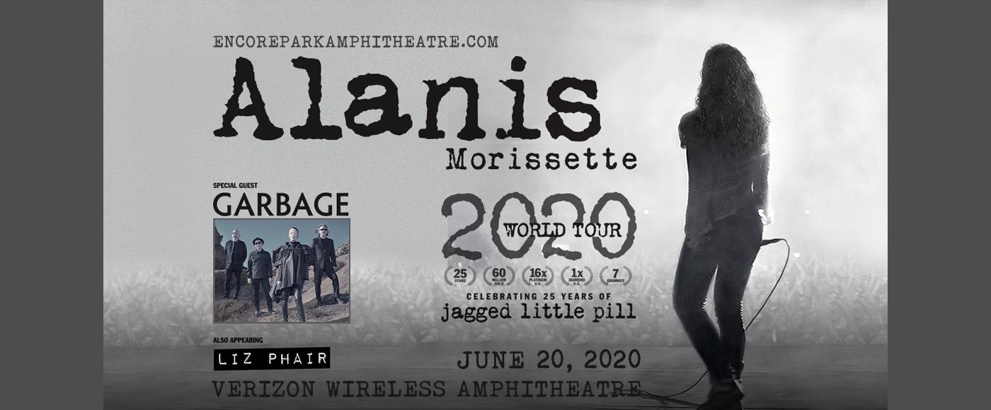 Alanis Morissette at Verizon Wireless Amphitheatre at Encore Park