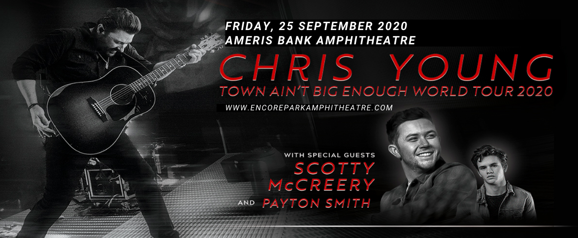 Chris Young, Scotty McCreery & Payton Smith at Ameris Bank Amphitheatre