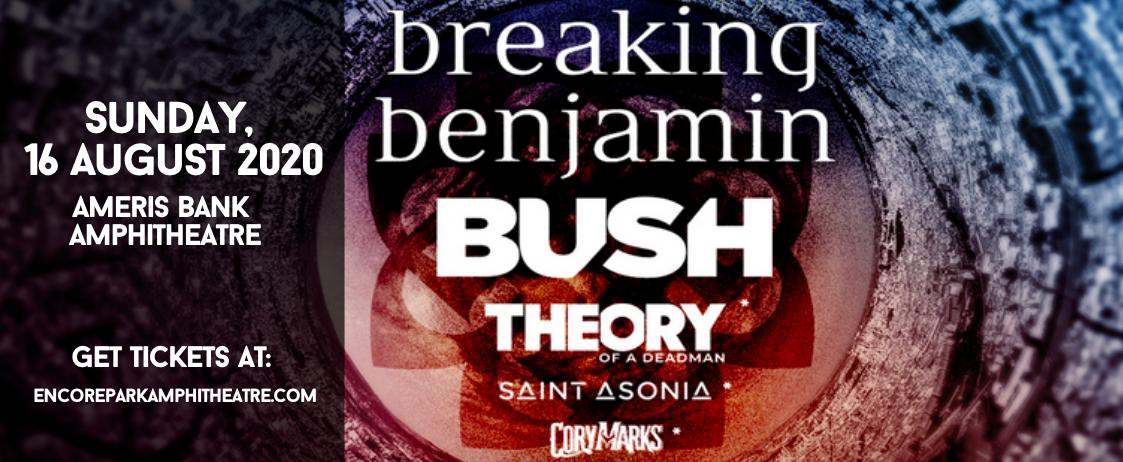 Breaking Benjamin & Bush at Ameris Bank Amphitheatre