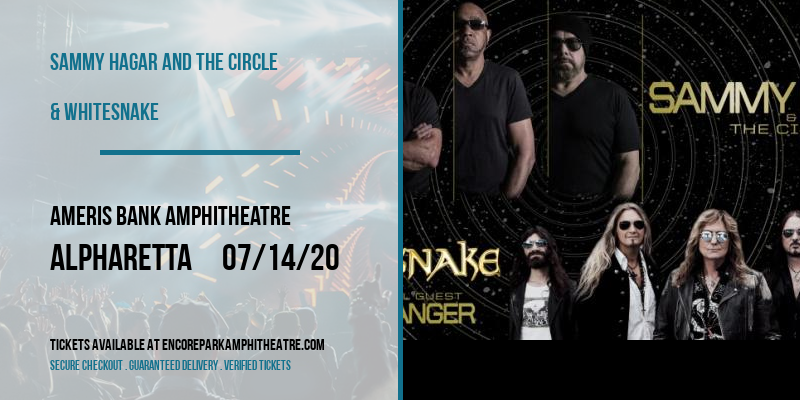 Sammy Hagar and the Circle & Whitesnake at Ameris Bank Amphitheatre