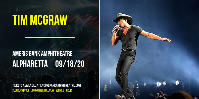 Tim McGraw at Ameris Bank Amphitheatre