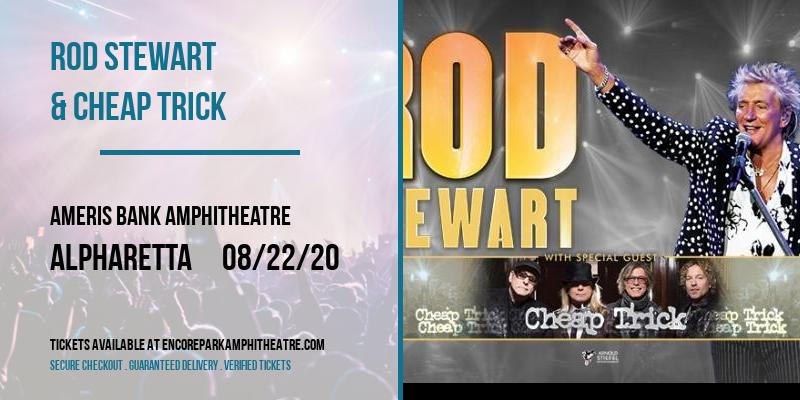 Rod Stewart & Cheap Trick at Ameris Bank Amphitheatre