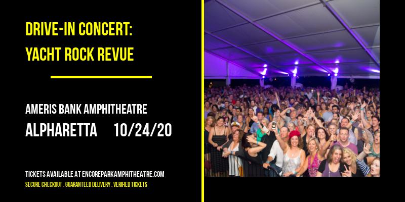 Drive-In Concert: Yacht Rock Revue at Ameris Bank Amphitheatre