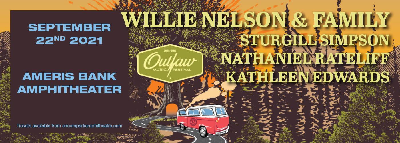 Outlaw Music Festival: Willie Nelson, Sturgill Simpson, Nathaniel Rateliff & Kathleen Edwards at Ameris Bank Amphitheatre