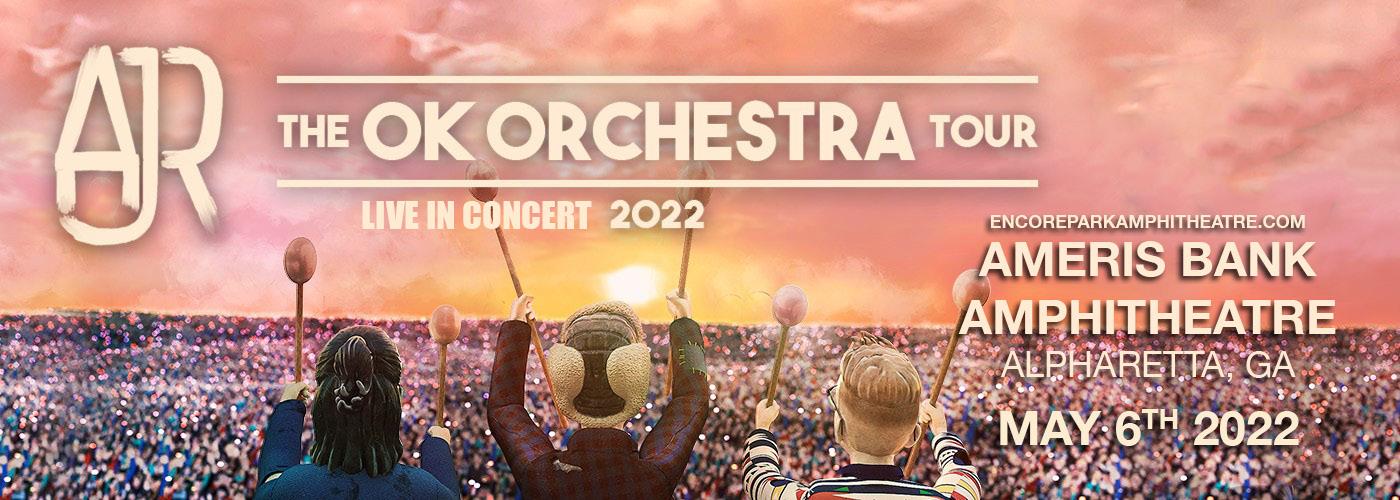 AJR: OK ORCHESTRA Tour at Ameris Bank Amphitheatre