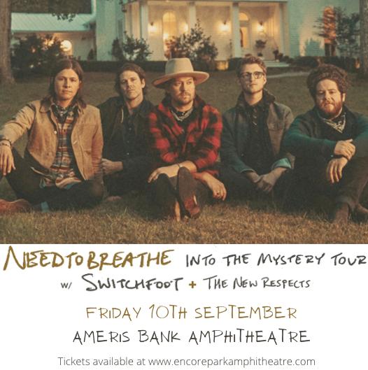 Needtobreathe at Ameris Bank Amphitheatre
