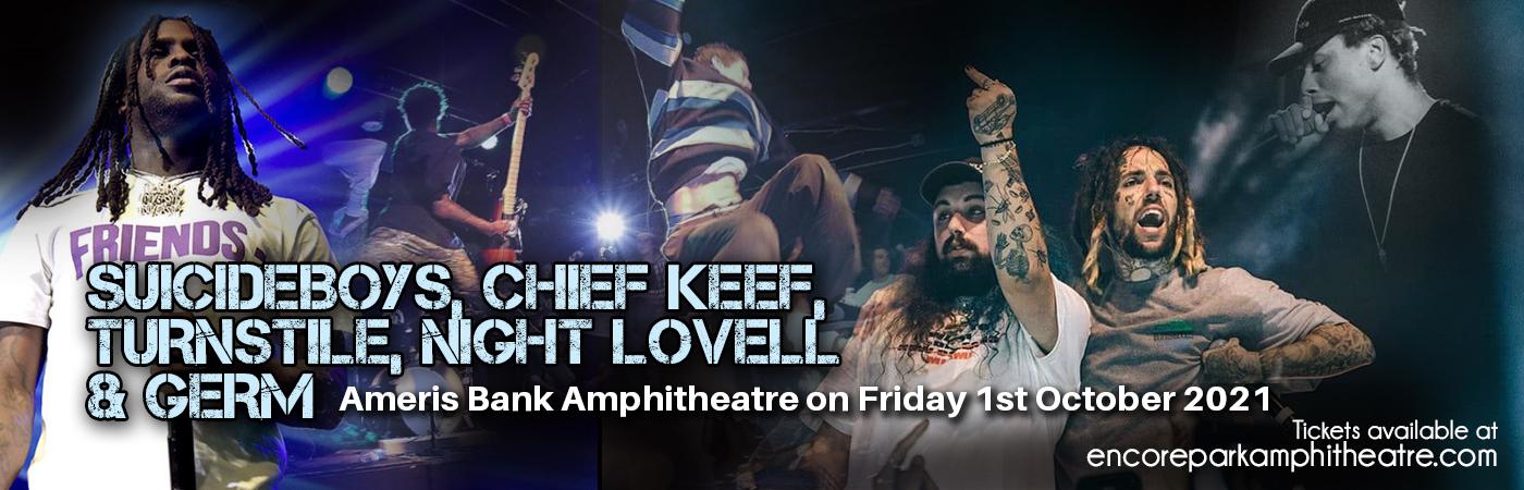 Suicideboys, Chief Keef, Turnstile, Night Lovell & Germ at Ameris Bank Amphitheatre